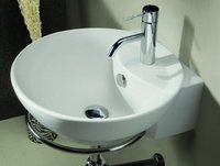 Round Shape Wall Mounted Basins