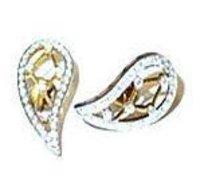 Diamond Studded Ear Tops