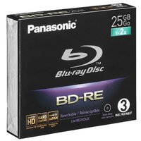 Panasonic Blu Ray Disk 25/50 Gb Bd-Re