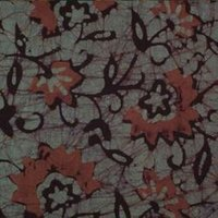 Block Print Garment Fabric