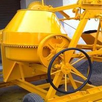Channel Type Concrete Mixer