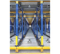 Pallet Flow Racking (Gravity Flow)