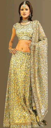 Fully Embroidered Bridal Lehenga
