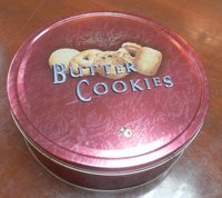 Round Cookie Packaging Box