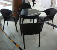 Pe-Rattan Dining Table Sets
