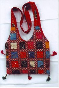 Patchwork Shoulder Bags