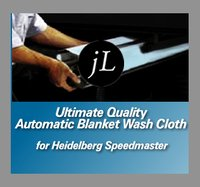 Heidelderg Blanket Wash Up Cloth