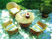 Wicker Outdoor Table And Chair Set