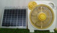 Solar Rechargeable Fan D-10c