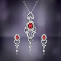 Diamond Pendants Set