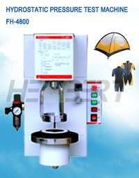 Hydrostatic Water Pressure Test Machines