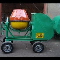 Tilting Hand Fed Concrete Mixer