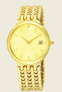 Gold Plated Wrist Watches