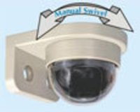 Dome Camera with Wall Bracket