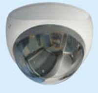 Silver Coated Triangle Dome Camera