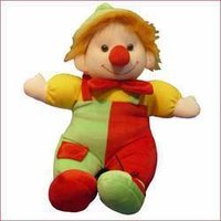 Clown Stuffed Toy