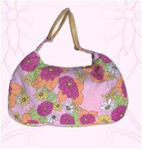 Floral Print Beach Bags