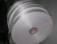Satin Woven White Edge Tapes