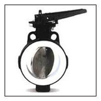 PTFE Lined Butterfly Valve