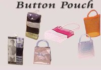 PVC Button Pouches