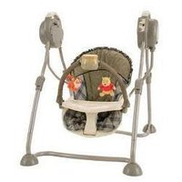 Folding Baby Swing