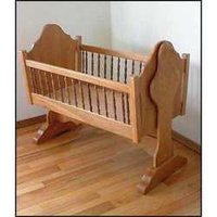Wooden Baby Swing