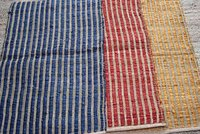 Cotton Chindi Stripped Rugs