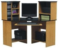 CORNER COMPUTER DESK