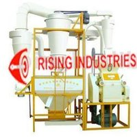 Single Round Flour Milling Machine