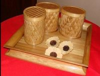 Bamboo Boxes With Tray