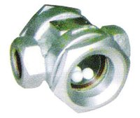 Ring ball type sight glass