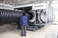 ZC-1000H Corrugated Pipe Making Machine