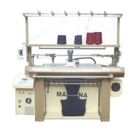 Computerised Sweater Widening Flat Knitting Machine