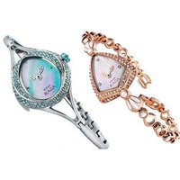 Ladies Trendy Look Wrist Watches