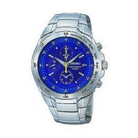 Blue Dial Stainless Steel Watches