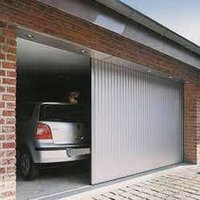 Lateral Running Garage Door