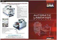 Automatic Thermal Lamination Machine