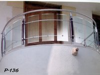 Multiplexes Glass Railing