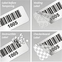 Destructible Temper Proof Labels