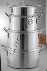 Aluminium Stock Pots
