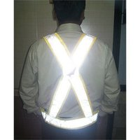 Safety Jacket With Cross Belt