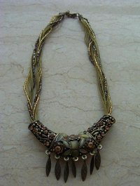 Fashion Beaded Necklace Mu-008