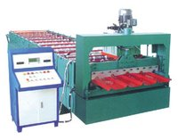 Single Roof Roll Forming Machine