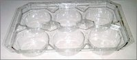 Food Packing Transparent Trays