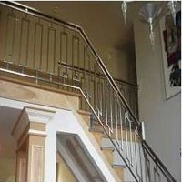Stainless Steel Sleek Railings