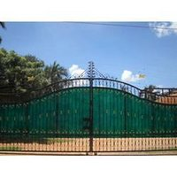 Solar Fencing Main Gate