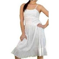 Cotton Long Ladies Dresses