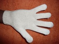 Cotton Knitted Seamless Gloves