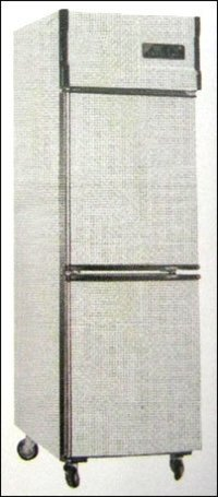 Vertical Two Door Refrigerator