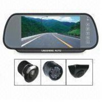 Car Rear-View System With 7-Inch And 16:9 Tft-Lcd Wide Screen Panel